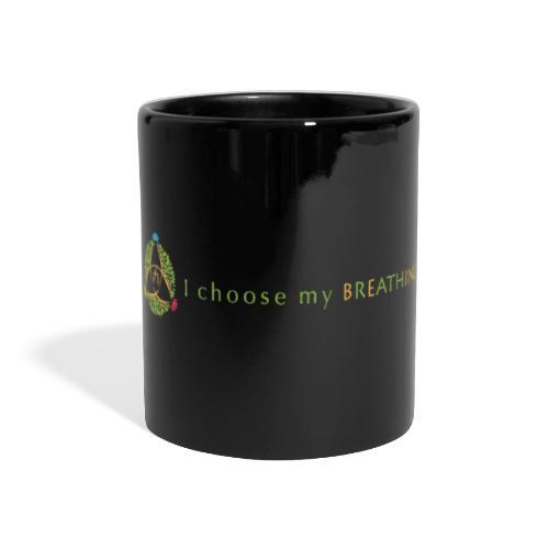 I choose my breathing V2 - Mug panoramique uni