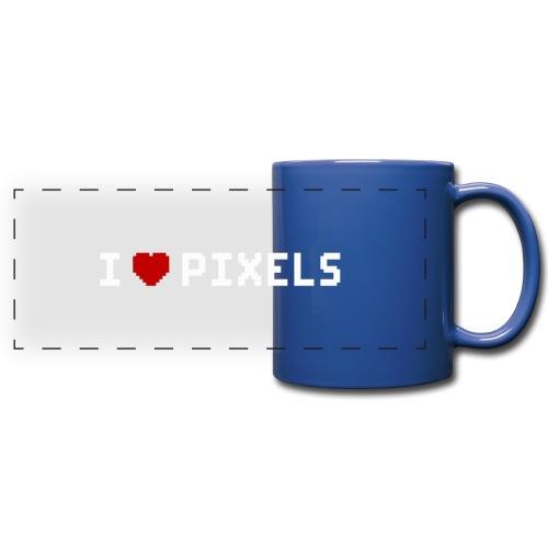 I Love Pixels - Panoramakrus, farvet