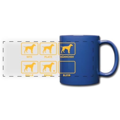Für alle Hundebesitzer mit Humor - Panoramatasse farbig