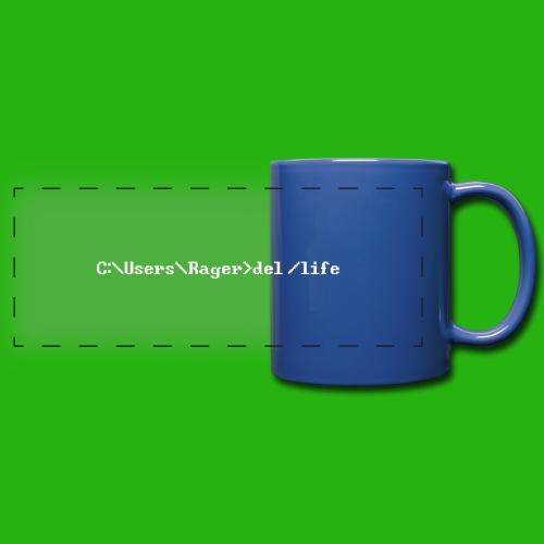 Programming Get A Life - Full Colour Panoramic Mug