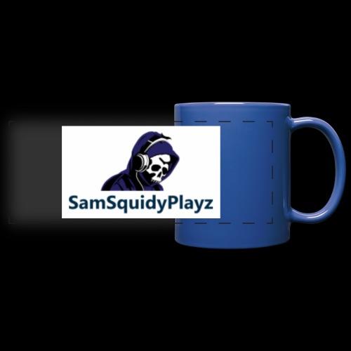 SamSquidyplayz skeleton - Full Colour Panoramic Mug