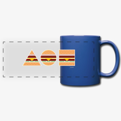 Graphic Burgers - Tazza colorata con vista