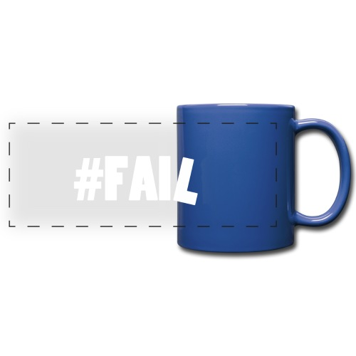 FAIL / White - Mug panoramique uni