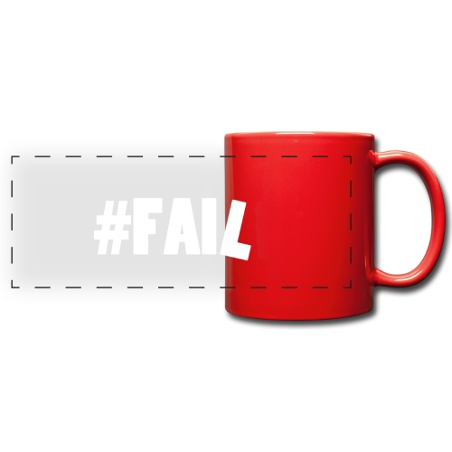 FAIL / White - Mug panoramique uni