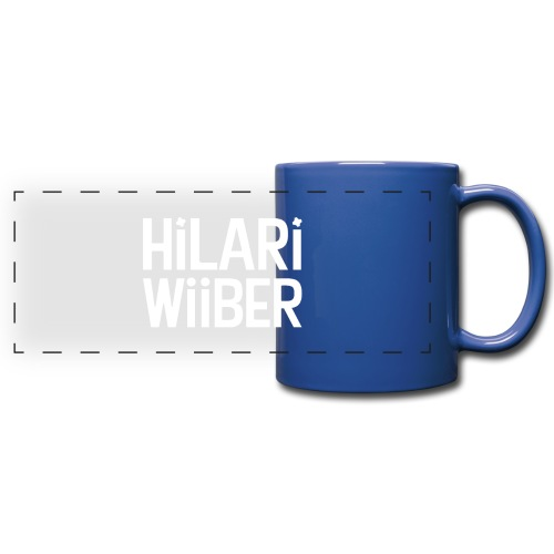 Hilari Wiiber - Be a HiWi - Panoramatasse farbig