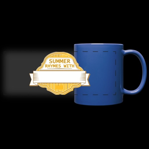 CUSTOMIZE SUMMER RHYMES with - Full Color Panoramic Mug
