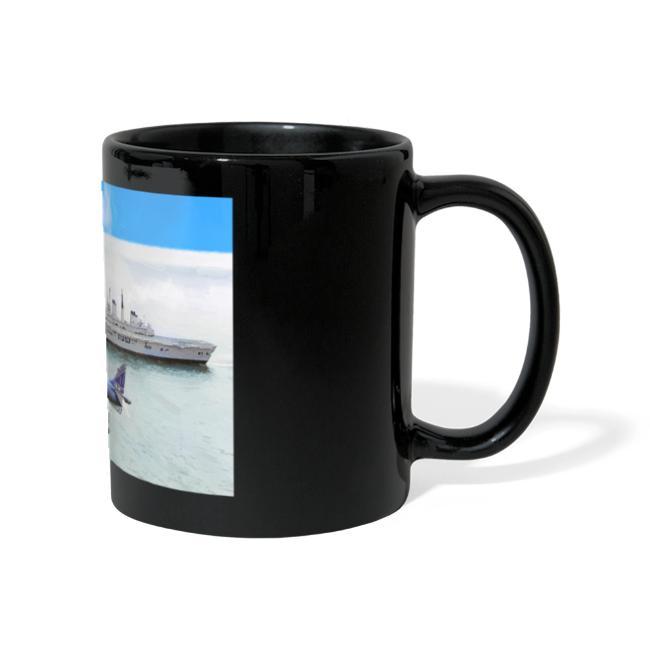 Sea harrier and Invicible digital oil