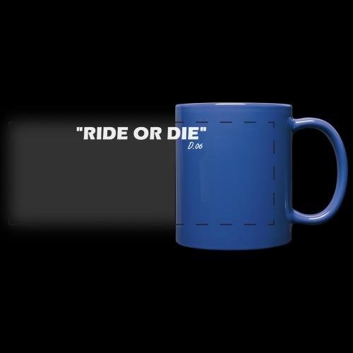 Ride or die (blanc) - Mug panoramique uni