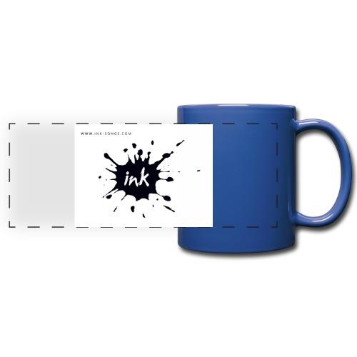 Ink Logo and website - Full Color Panoramic Mug