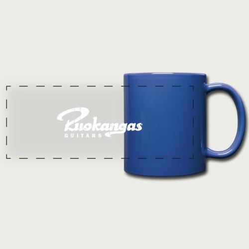 RuokangasGuitars white - Full Color Panoramic Mug