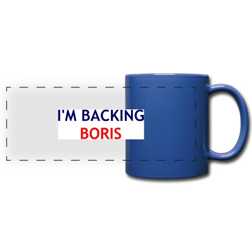 Backing Boris - Boxer Shirts - Full Color Panoramic Mug