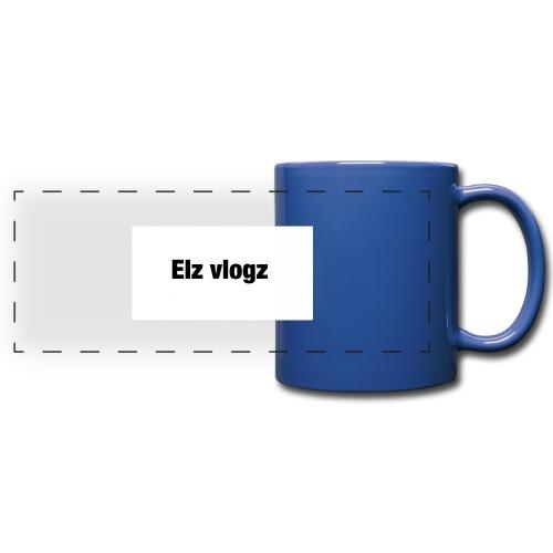 Elz vlogz merch - Full Color Panoramic Mug