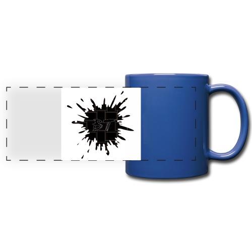 Blacktuber Splash Logo - Panoramamok gekleurd
