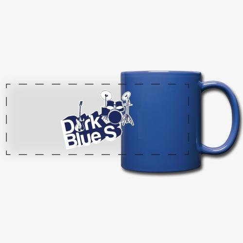 DarkBlueS outline gif - Full Colour Panoramic Mug