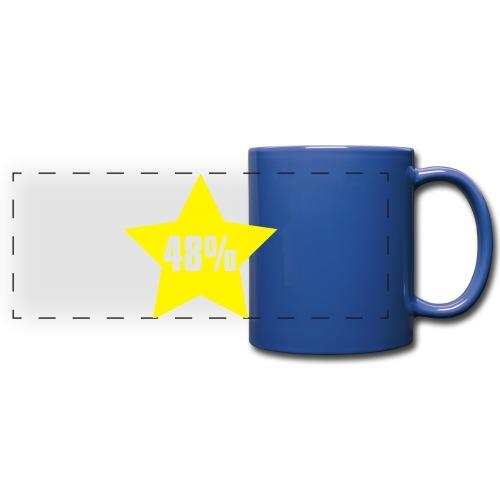48% in Star - Full Color Panoramic Mug