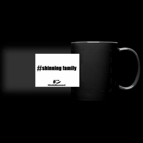 shinning family - Mug panoramique uni