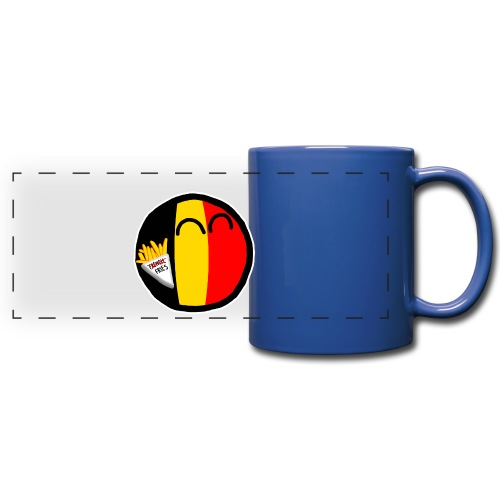 Belgiumball - Full Color Panoramic Mug