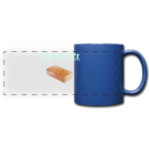 I love my brick - Full Colour Panoramic Mug
