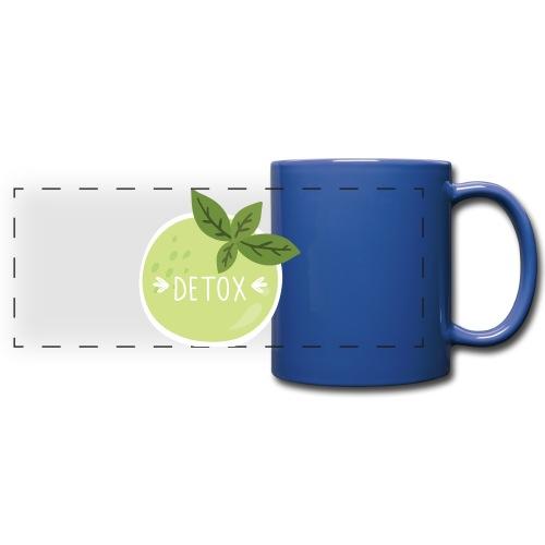 Detox green juice - Tazza colorata con vista