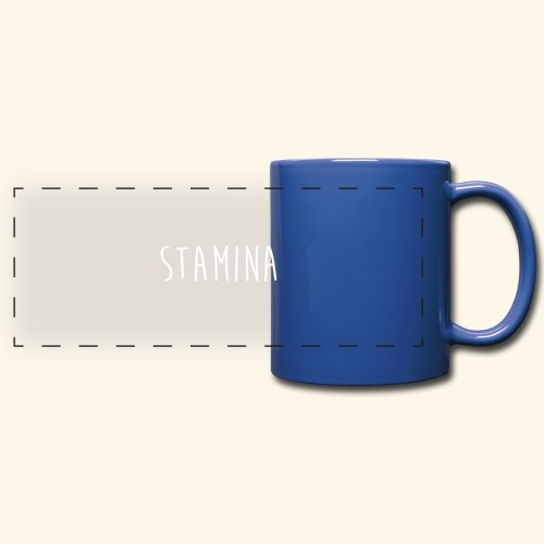 STAMINA - Mug panoramique uni