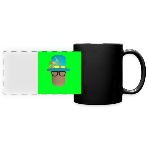 MrWhatWhat Logo Merch - Full Color Panoramic Mug