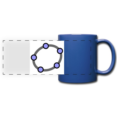 GeoGebra Ellipse - Full Colour Panoramic Mug