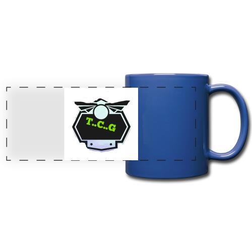 Cool gamer logo - Full Color Panoramic Mug