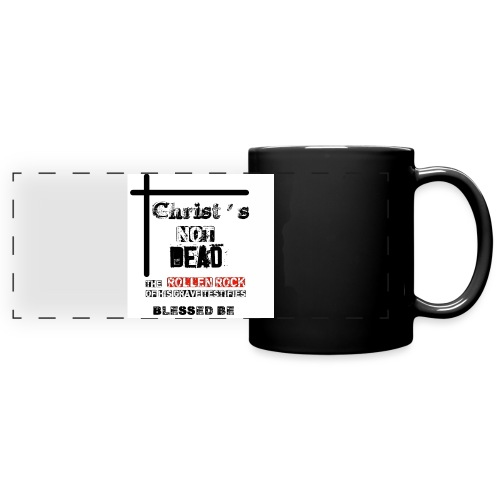 Christ's Not Dead - Mug panoramique uni