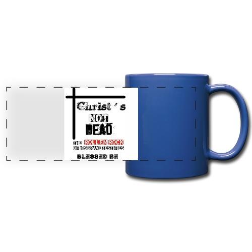 Christ's Not Dead - Mug panoramique uni