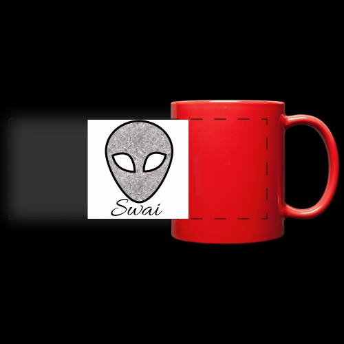 swai alien - Panoramatasse farbig