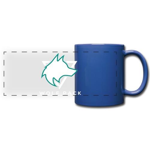 Wolf Pack Logo (NEW) - Full Color Panoramic Mug