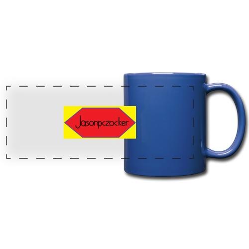 Jasonpczocker Design für gelbe Sachen - Panoramatasse farbig