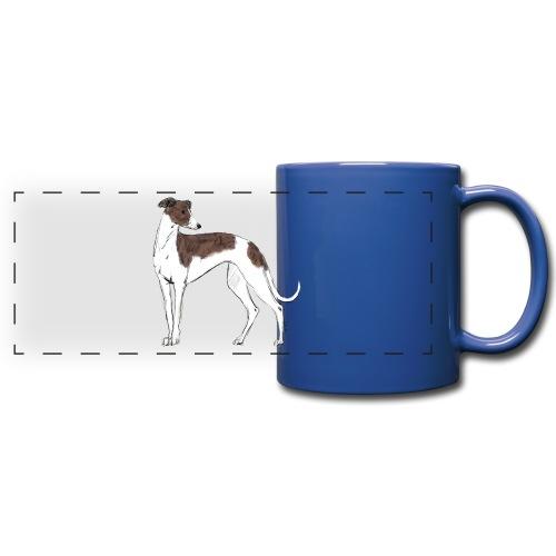 Greyhound - Panoramatasse farbig