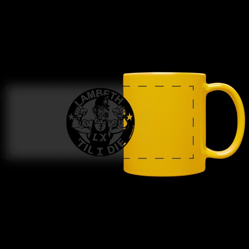 LAMBETH - BLACK - Full Colour Panoramic Mug