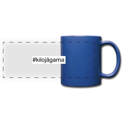 #kilo - Färgad panoramamugg