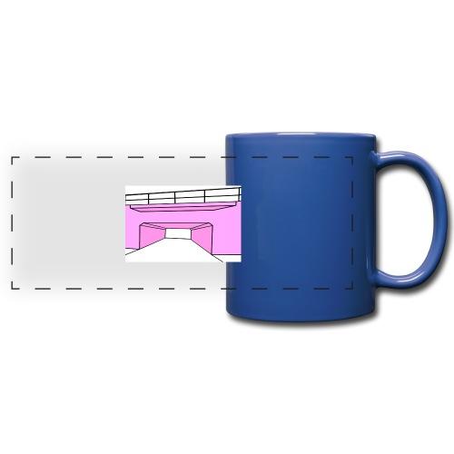 Pink Tunnel - Färgad panoramamugg