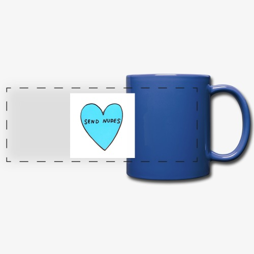 send nudes - Full Color Panoramic Mug