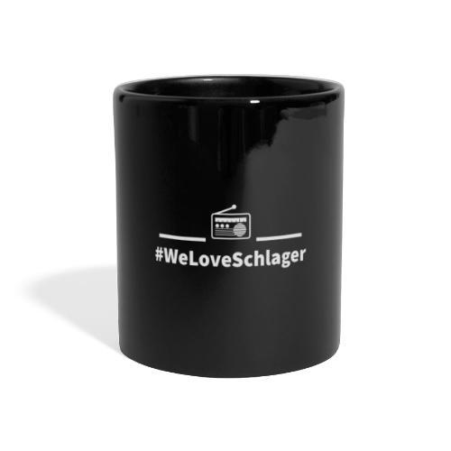 WeLoveSchlagerRadio - Panoramatasse farbig