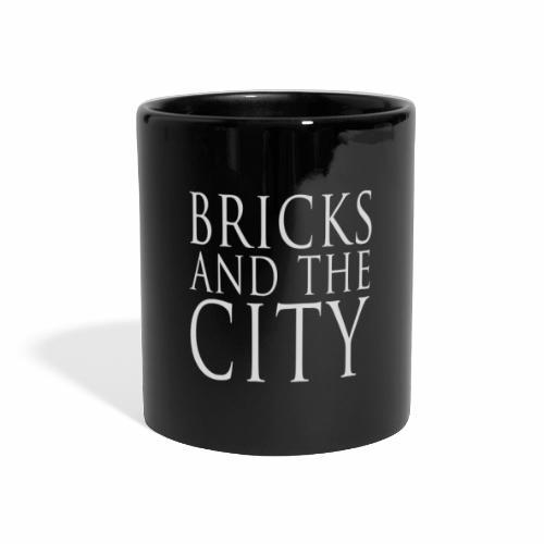 Bricks and the City (square) - Tazza colorata con vista
