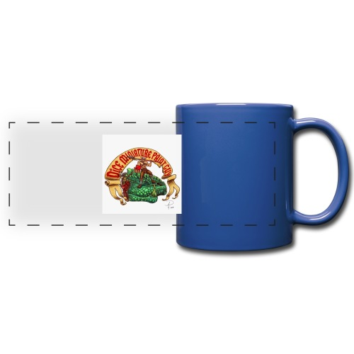 DiceMiniaturePaintGuy - Full Colour Panoramic Mug