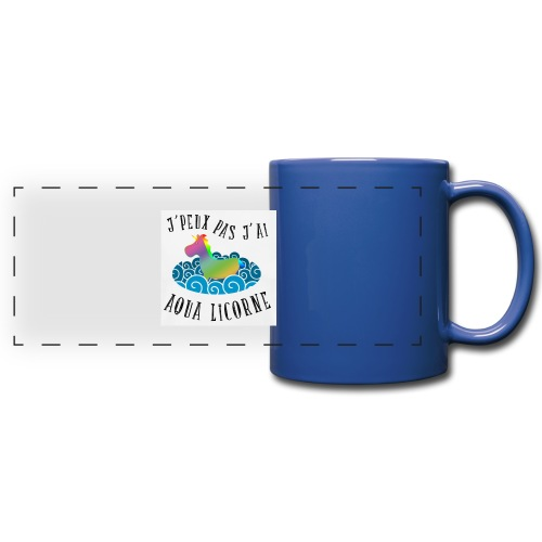 image - Mug panoramique uni