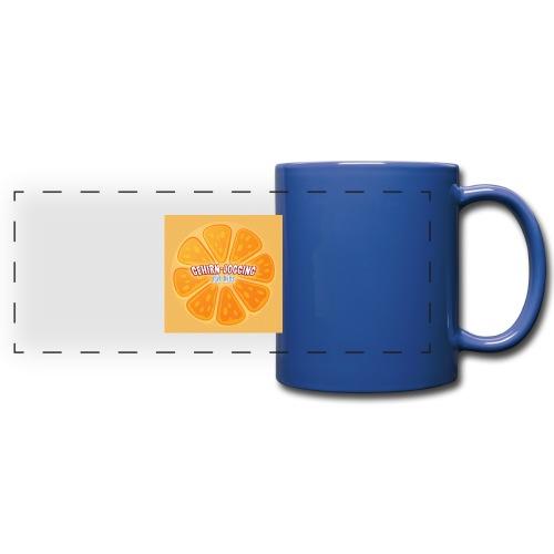 orangetextur - Panoramatasse farbig