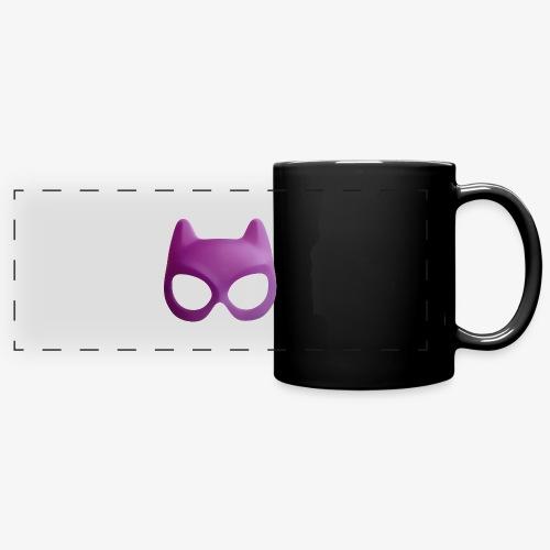 Bat Mask - Kolorowy kubek panoramiczny