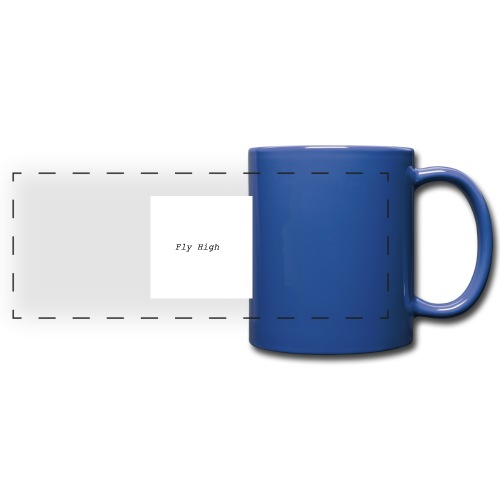 Fly High Design - Full Colour Panoramic Mug