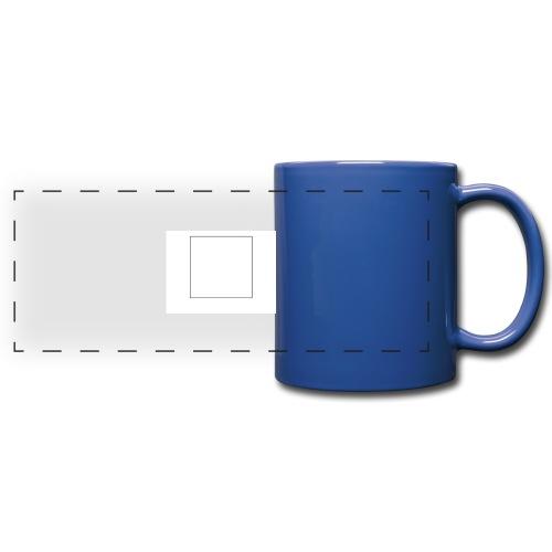 Square t shirt - Panoramamok gekleurd