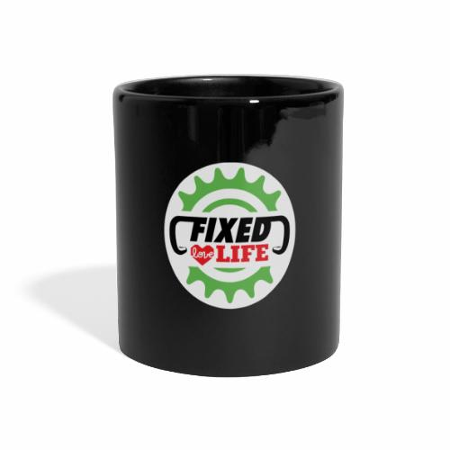 fixed love life - Tazza colorata con vista