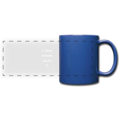 L'amour triomphe encore (blanc) - Mug panoramique uni