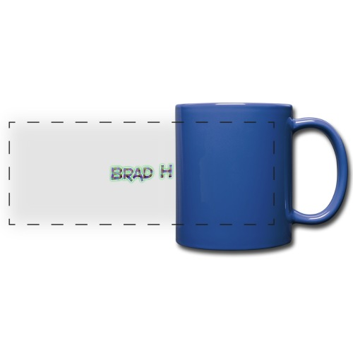Official Brad H Logo - Full Colour Panoramic Mug