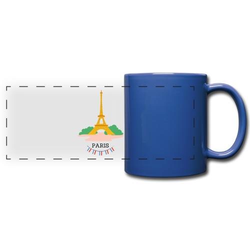Mug Tour eiffel - Mug panoramique uni