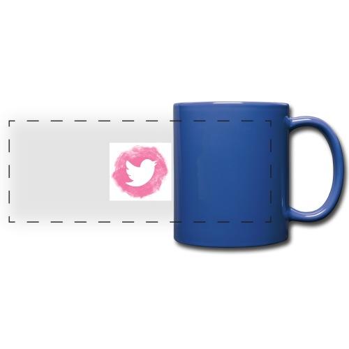 pink twitt - Full Color Panoramic Mug